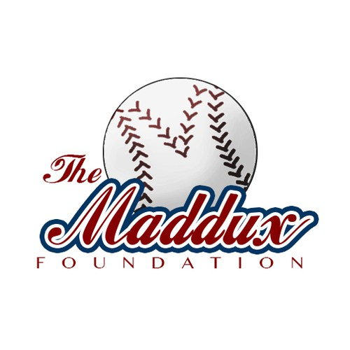 Cool logo for a baseball foundation