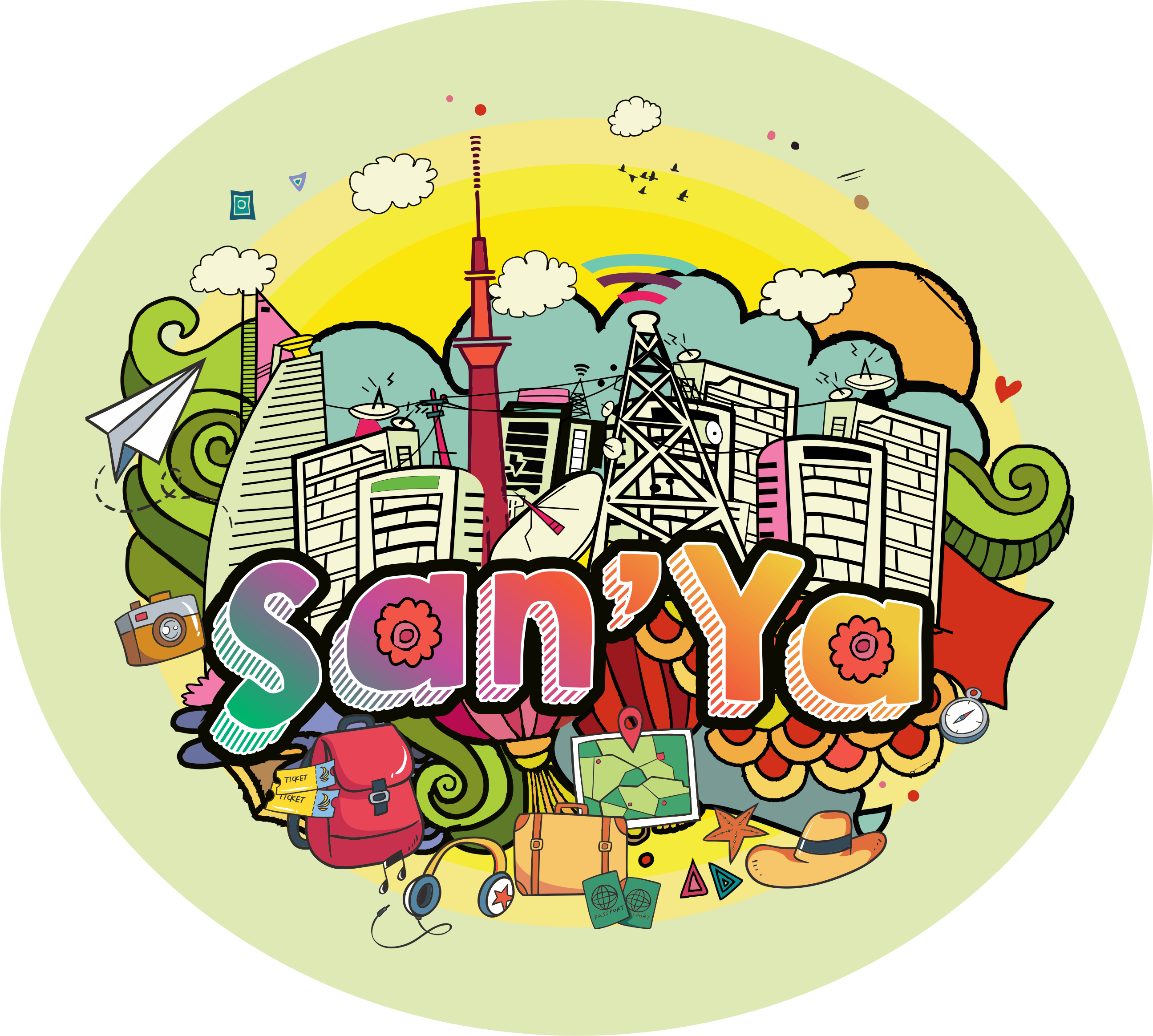 Sticker for San'ya