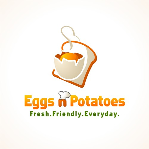 Help Eggs 'N' Potatoes with a new logo