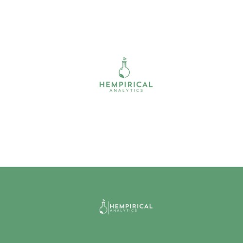 Create a logo for Hempirical Analytics. We are a cannabis testing facility in Denver Colorado.