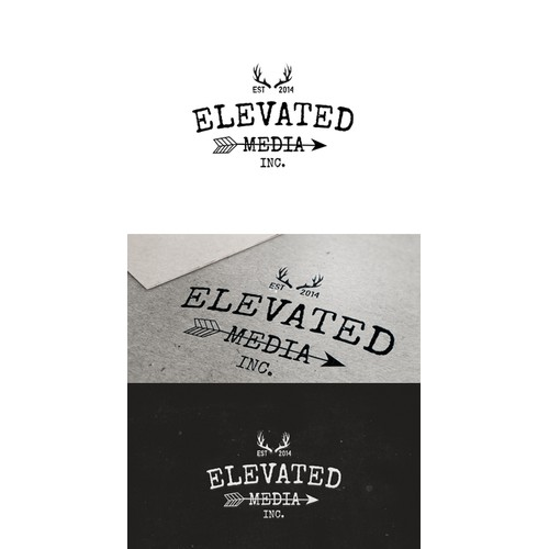 Create A Vintage Logo For Elevated Media Inc.
