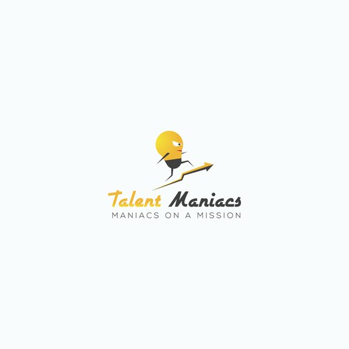 Logo for talent maniac