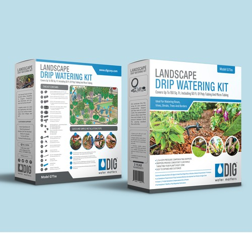 Retail Packaging Redesign for Landscaping Industry