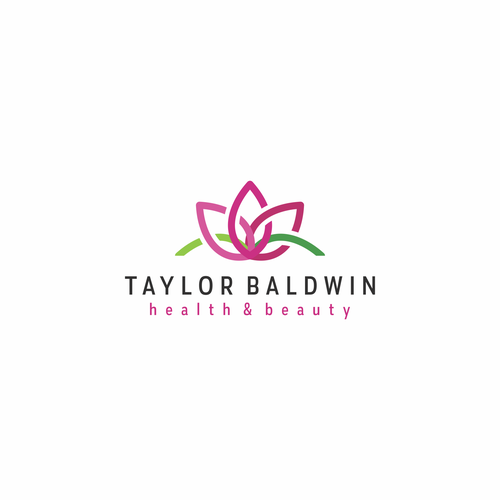 Line art logo concept for Taylor Baldwin