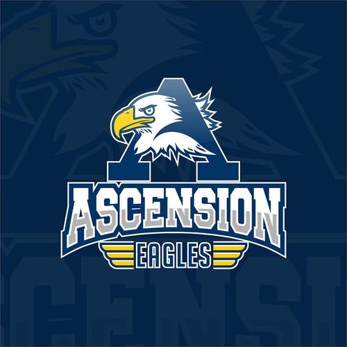 Ascension Eagles Athletic logo