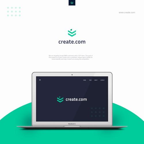 """Design a logo for """"Create.com"""""""