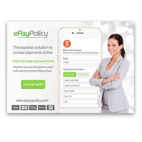 Print Ad for ePayPolicy