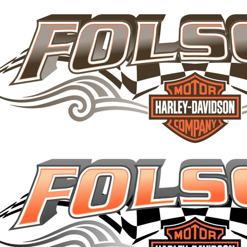 Folsom Harley-Davidson - Tribal & Flame - EDITED - PLEASE READ