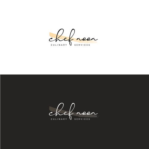 Elegant logo for a high-end catering company
