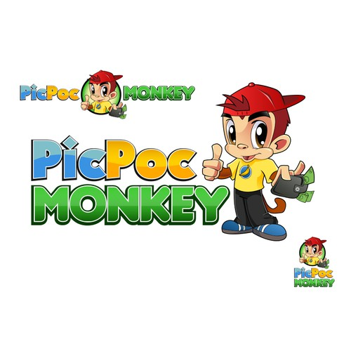 Create the next logo for PicPocMonkey