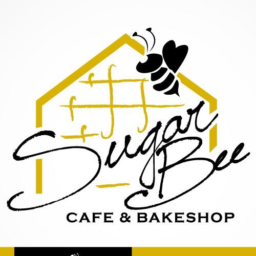 Sugar Bee Cafe & Bakeshop Logo