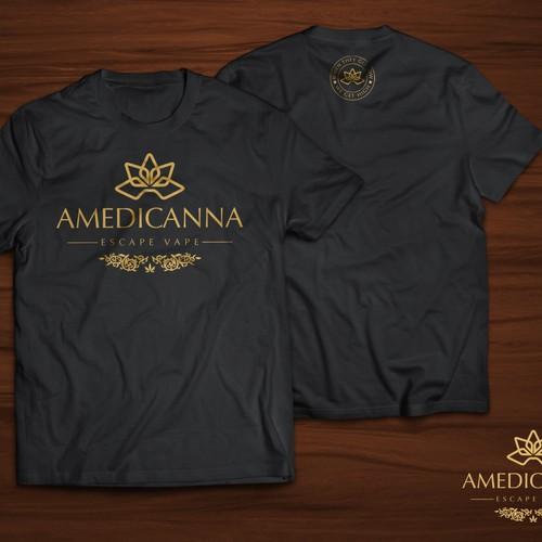 T-Shirt Design for Amedicanna