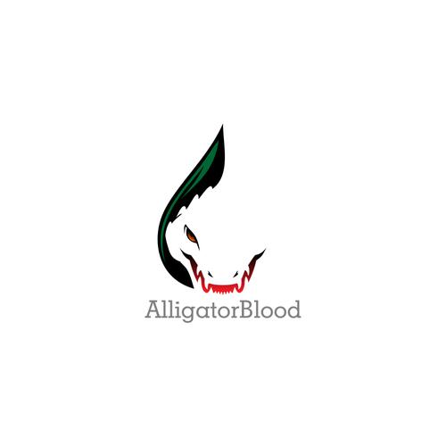 AlligatorBlood logo concept
