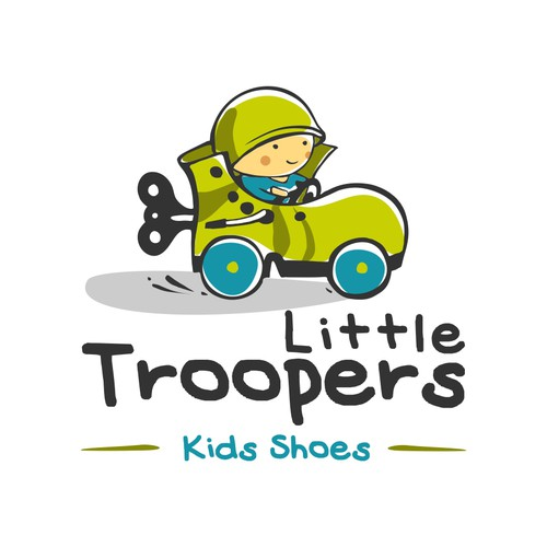 New logo wanted for Little Troopers Kids Shoes