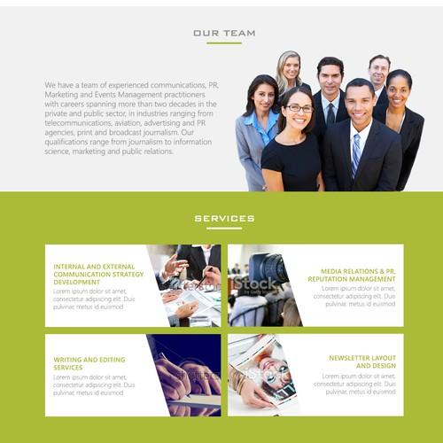 Lotus Communications website design contest