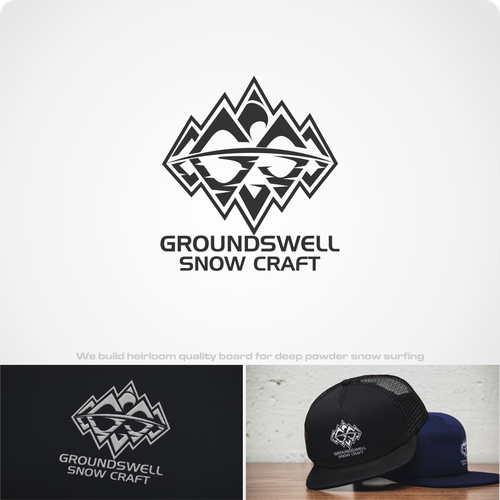 Craft snowboard brand logo project