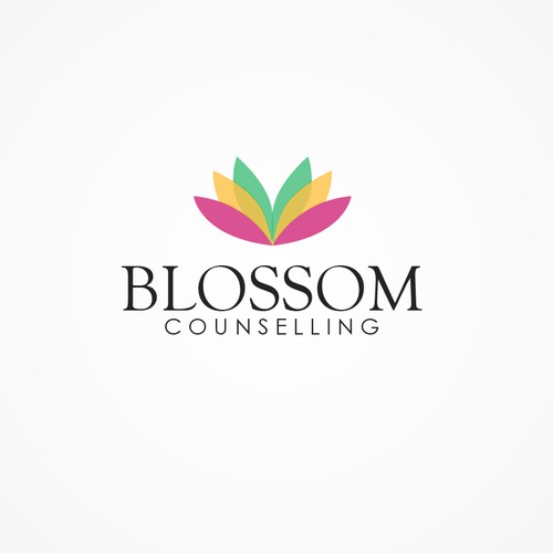 Create a fun, retro / modern logo for Blossom Counselling.