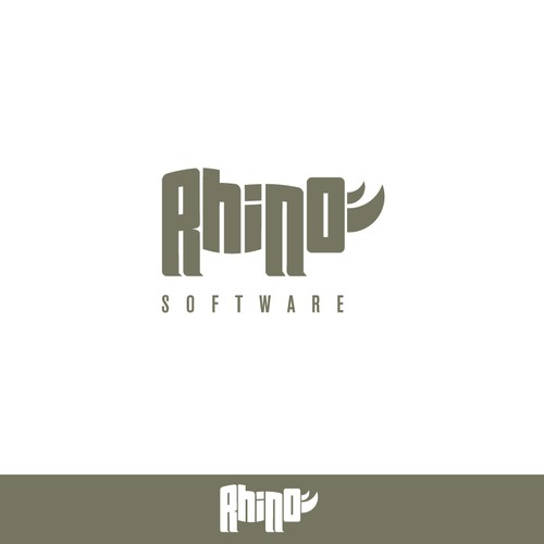 Help Rhino Software with a new logo