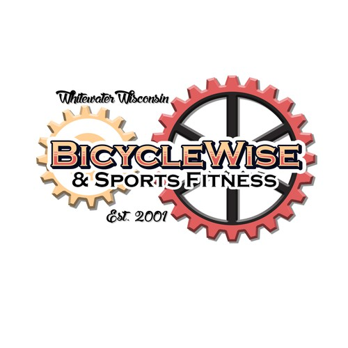 Logo concept for bicycle company
