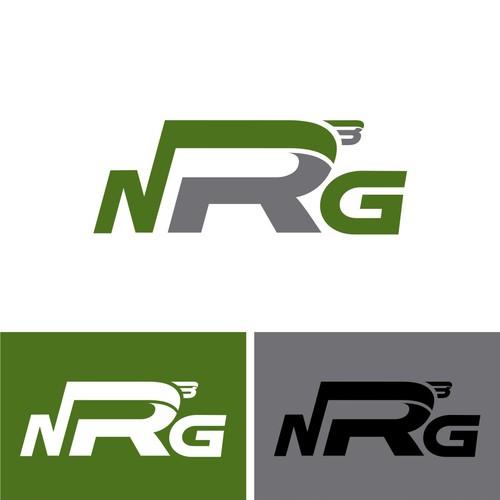 NRG logo design