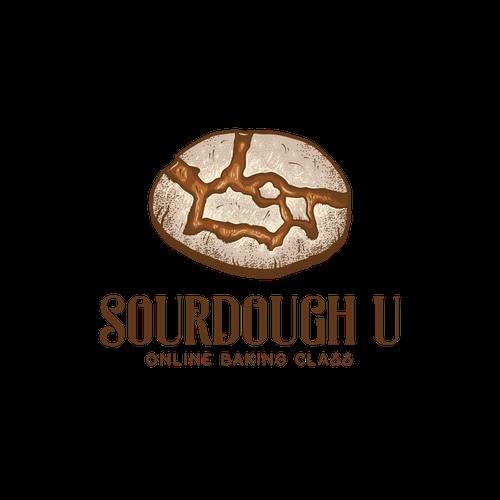 Logo for sourdough baking course