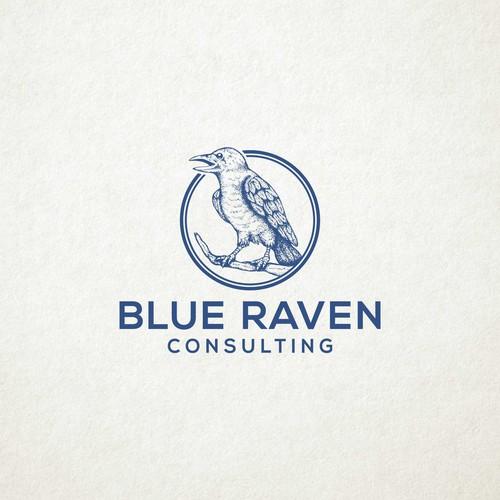 logo for BLUE RAVEN