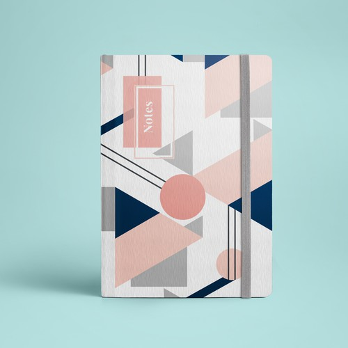 Notebook cover design