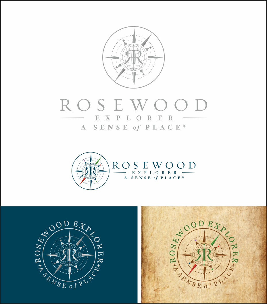 ¡Create a corporative logo for children between 8 - 12yrs, to Rosewood Hotels & Resorts!