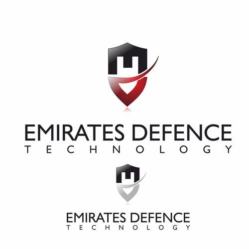 A prestigious logo, for an established defence company