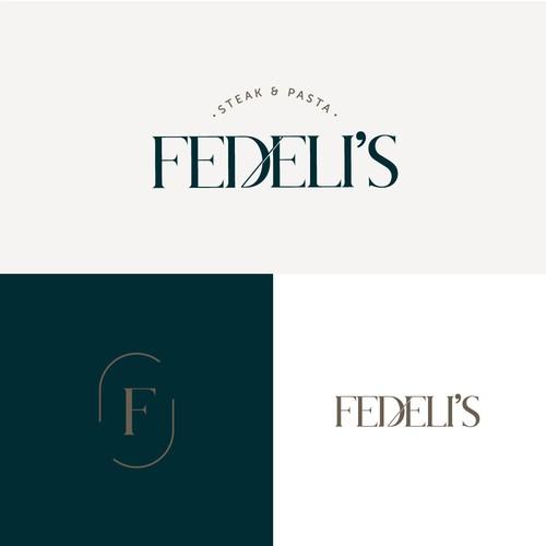 Fedeli's Logo Variations