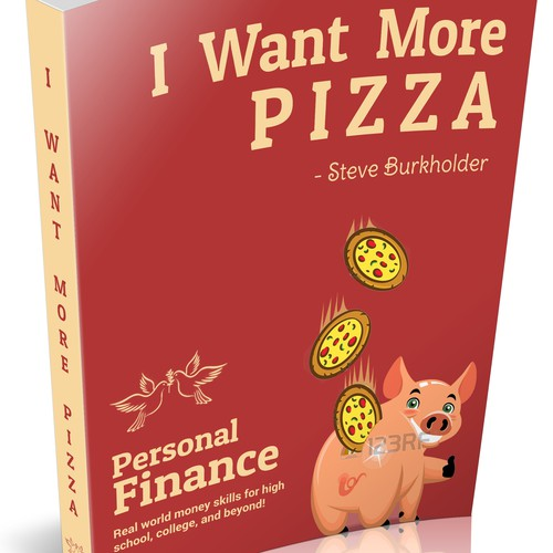 eBook Cover For I Want More Pizza