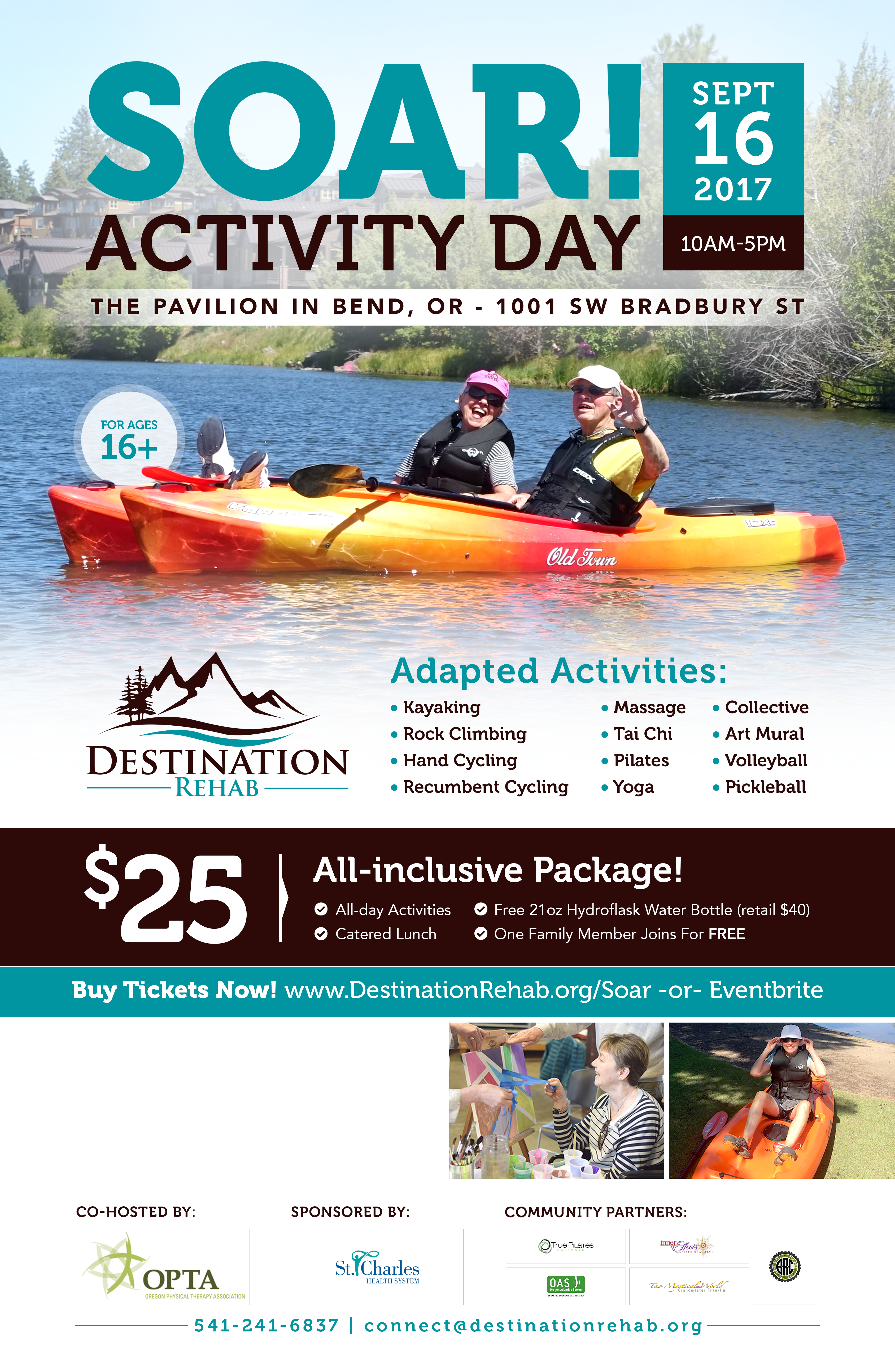 Individuals w/ disabilities need an awesome event poster!