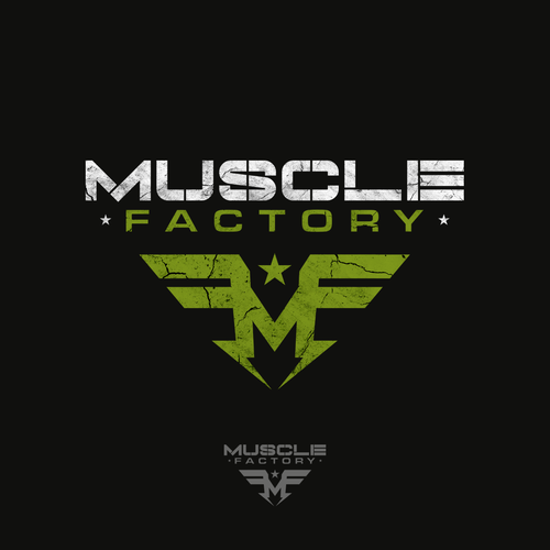 Logo design for Muscle Factory