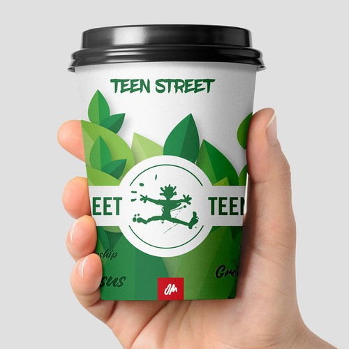 Reusable cup design
