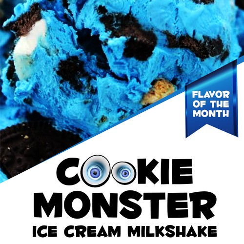 Ice Cream Milkshake flyer