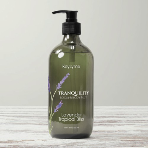 Label for Natural, Organic Company