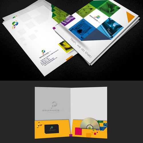 Graphics, Inc. needs a Presentation Folder