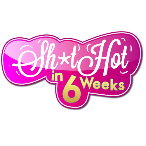 Custom Label for shit hot in 6 weeks