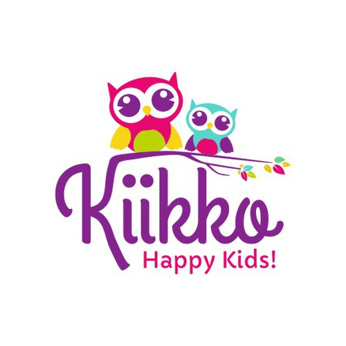 Kiikko - childcare website needs a super cool logo!