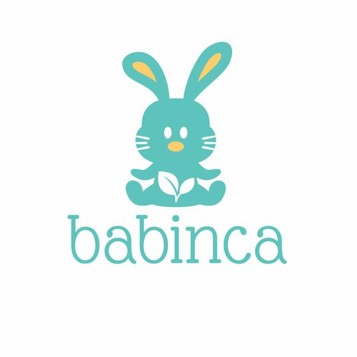 Create a beautiful logo for BABINCA baby goods