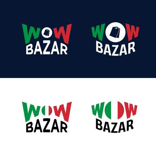 Logo Concept for Italian Bazaar