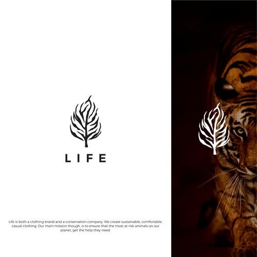 Life logo concept
