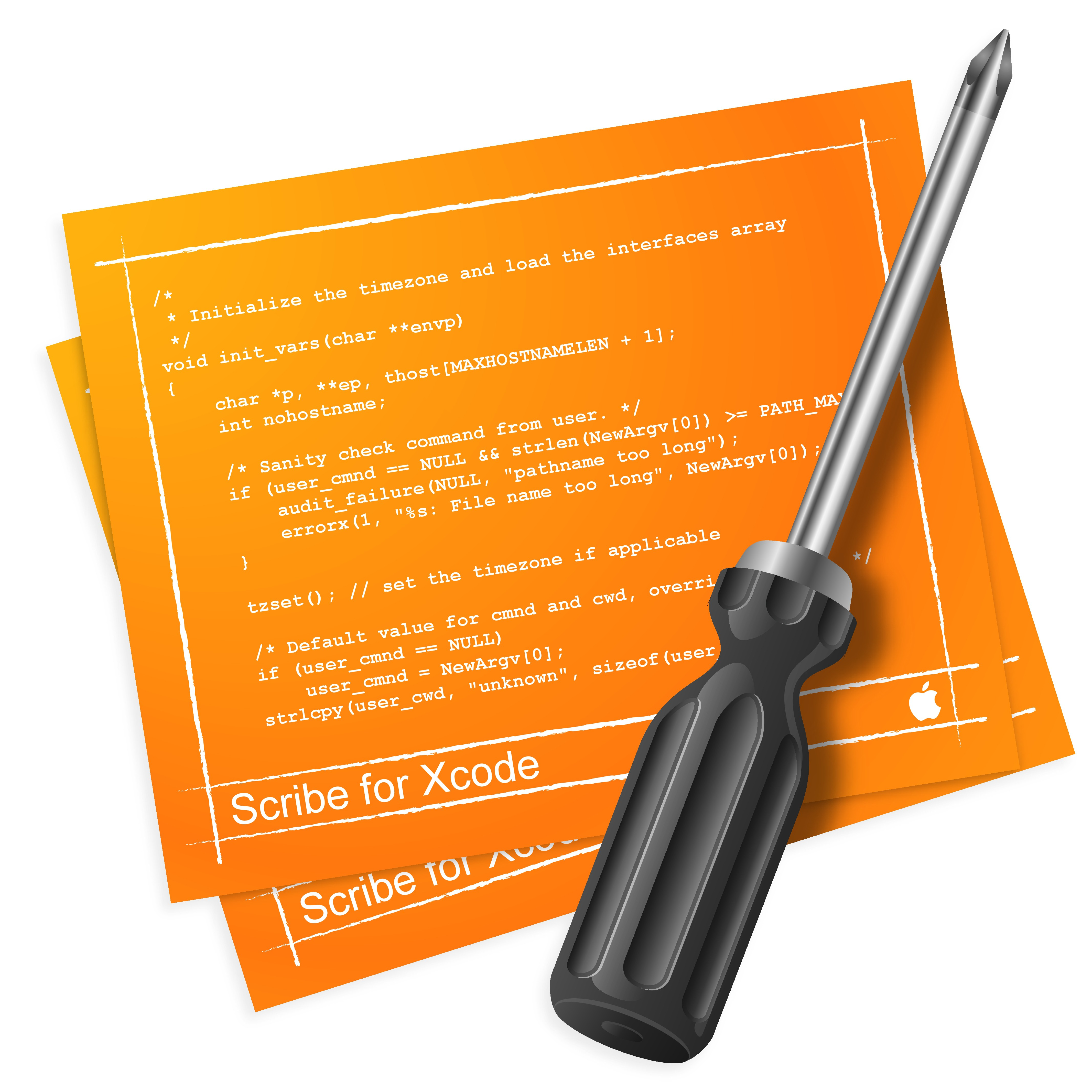 Mac OS X App Icon for Software Development Tool