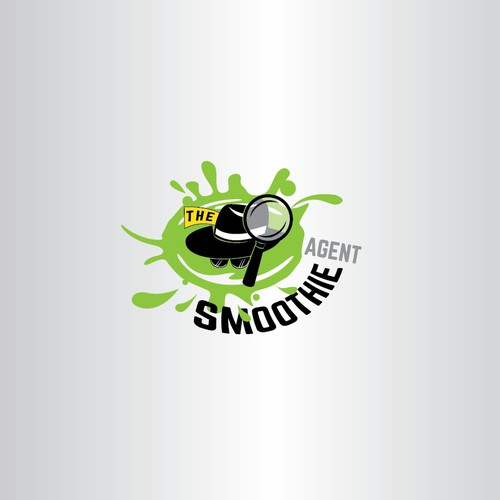 Brand logo design for healthy smoothie company