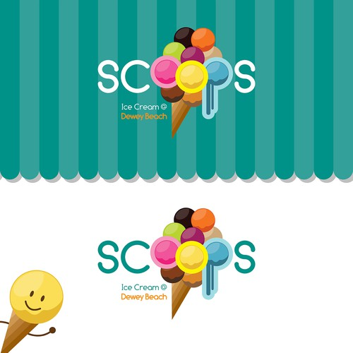 Create a delicious and eye catching logo for our Ice Cream Parlor!