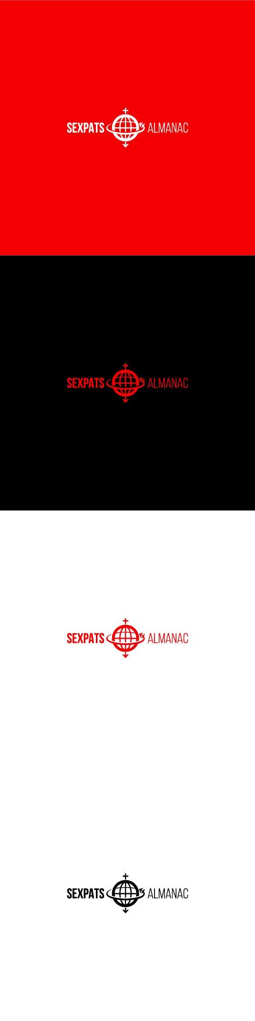 Sexpats Almanac Logo Design