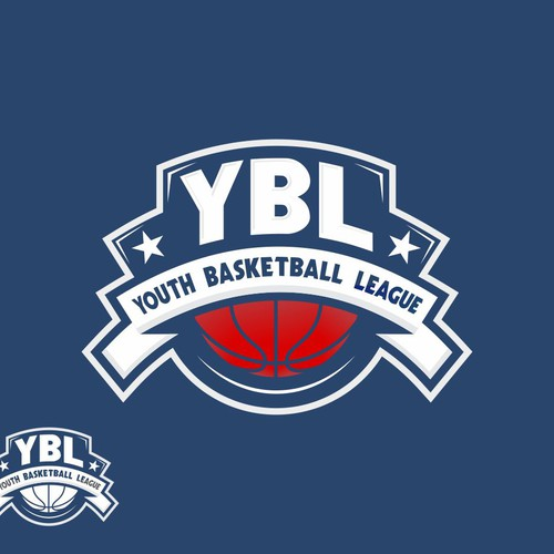Logo for Youth Basketball League (YBL)