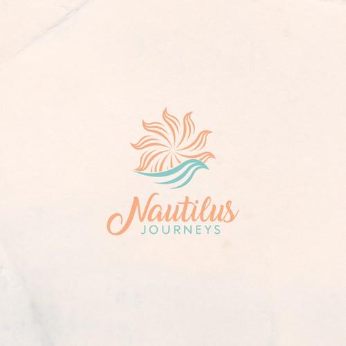 Nautilus Journeys logo concept
