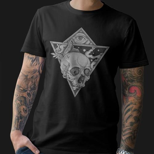 Illuminati illustration for t shirt