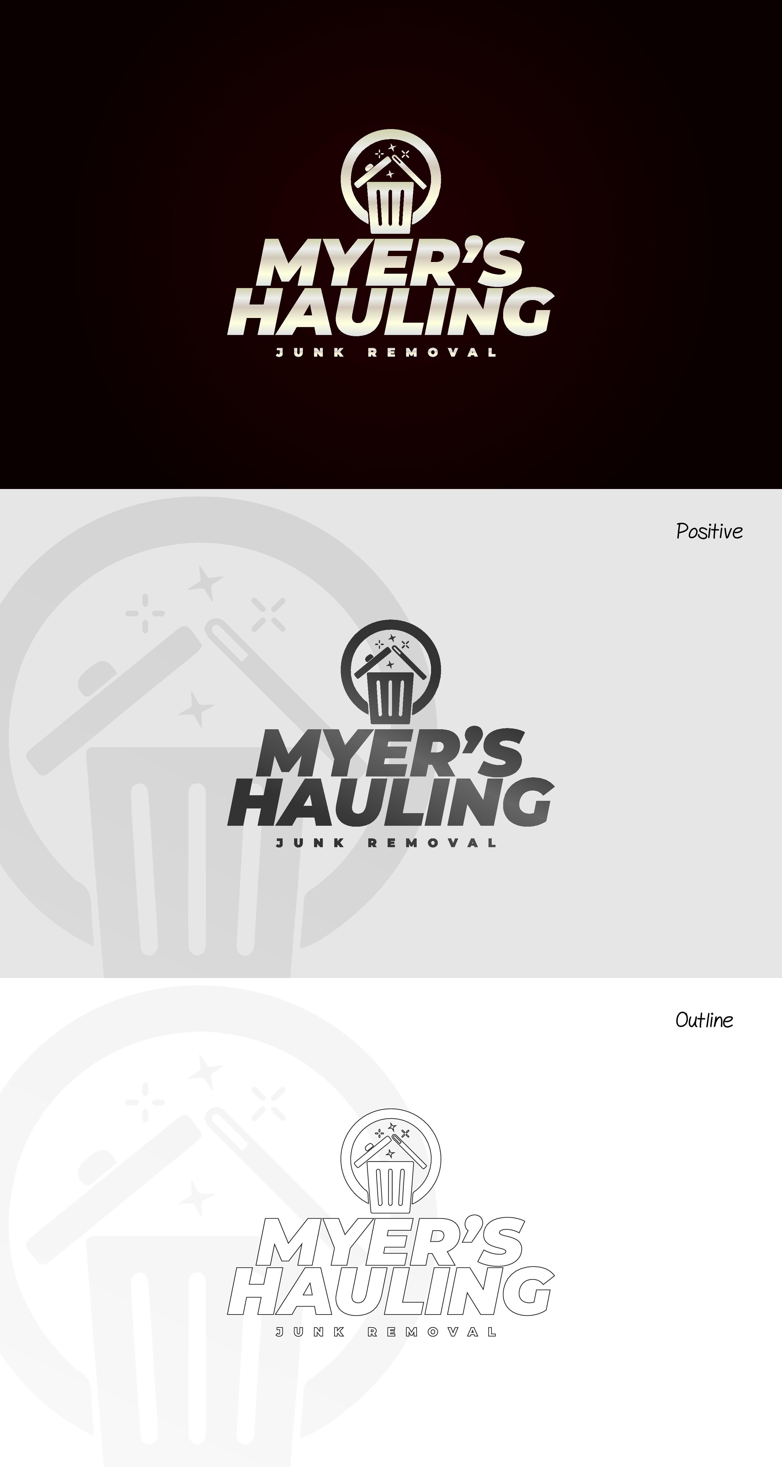 Hauling Logo design for everyone